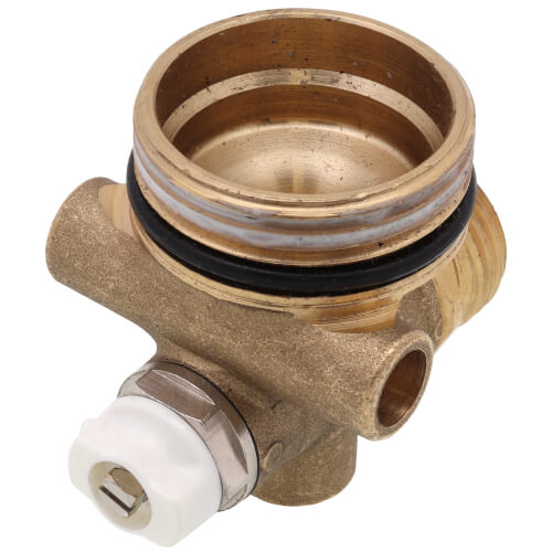 TruFLOW Manifold End Cap with Vent & Drain Product Image