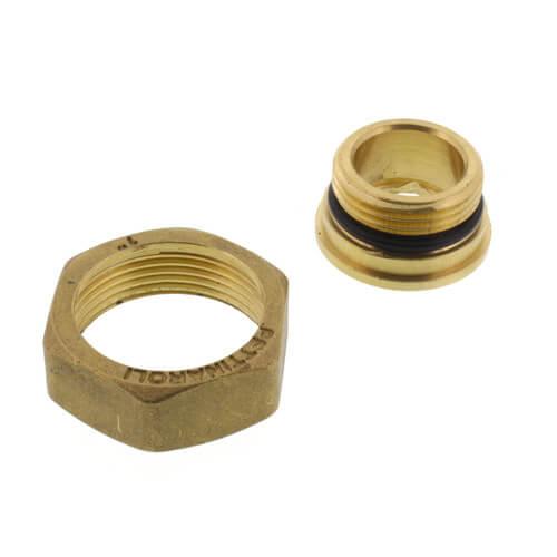 "TruFLOW Jr. Compact Manifold Union, Straight, 1"" BSP x R32 Union Product Image"