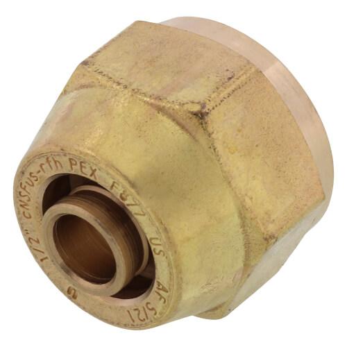 "1/2"" QS-style Fitting Assembly, R20 thread Product Image"