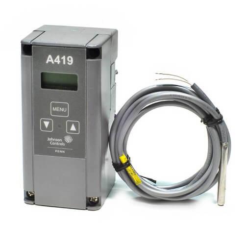 a419gbf 1c johnson controls a419gbf 1c single stage digital rh supplyhouse com How Do You Wire a Honeywell Aquastat Honeywell Aquastat Wiring-Diagram