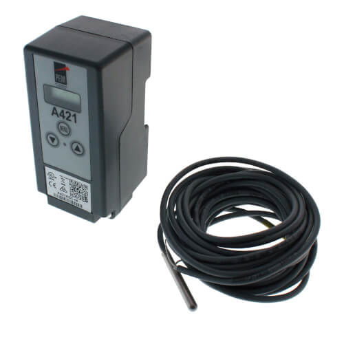Single Stage Digital Temperature Control w/ 19-1/2' Leads (120/240V SPDT) Product Image