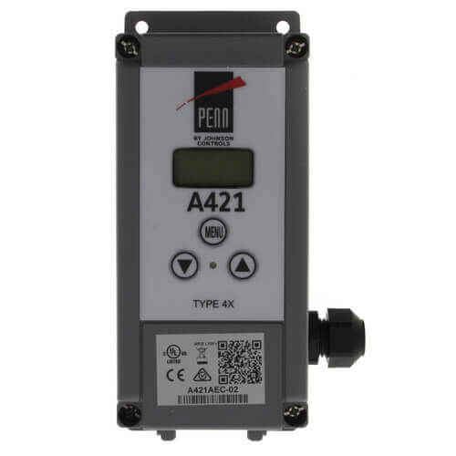 "Single Stage Digital Temperature Control w/ 6 Ft. 7-1/5"" Leads (120/240v, SPDT) Product Image"