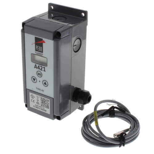 """Single Stage Digital Temperature Control w/ 6 Ft. 7-1/5"""" Leads (120/240v, SPDT) Product Image"""