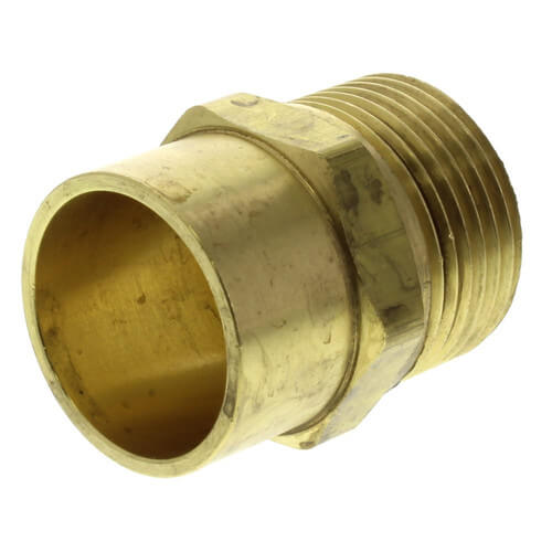 """Copper Pipe Adapter, R20 x 3/4"""" Copper Product Image"""