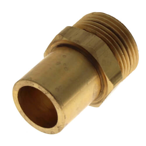 "Copper Fitting Adapter, R20 x 3/4"" Copper Product Image"