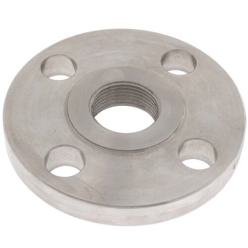 "1"" Stainless Steel ANSI RF Threaded Flange Product Image"