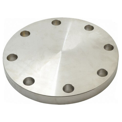 "4"" Stainless Steel ANSI RF Blind Flange Product Image"