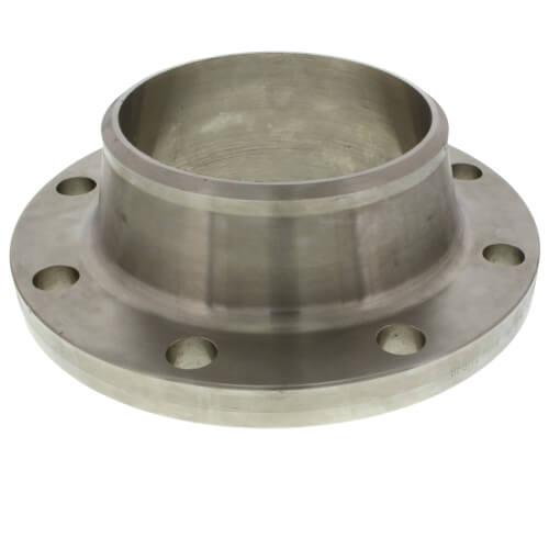 "6"" Stainless Steel ANSI RF Weld-Neck Flange Product Image"