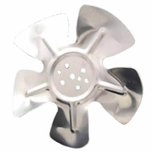 "6"" Aluminum 5 Blade CW Fan Blade (w/o Hubs) Product Image"