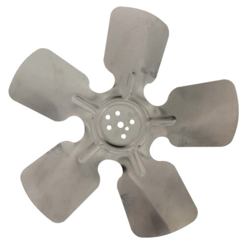 "10"" Aluminum 5 Blade CW Hubless Fan Blade Product Image"