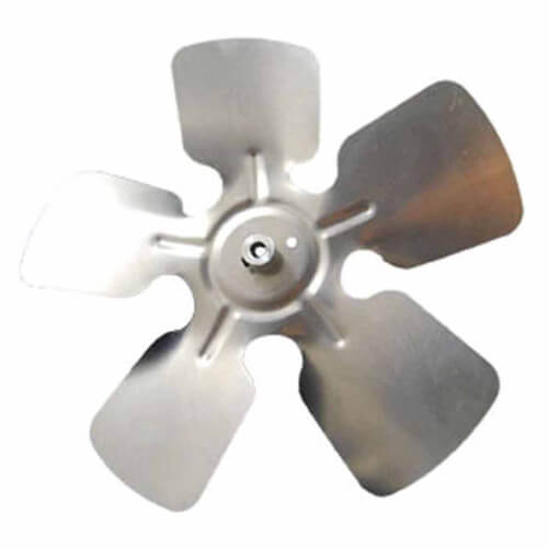"12"" Aluminum, 5-Blade, CW Fan Blade (5/16"" Bore) Product Image"