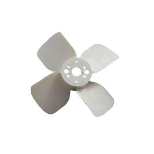"4"" Plastic 4 Blade CCW Fan Blade, Hub Bore Product Image"