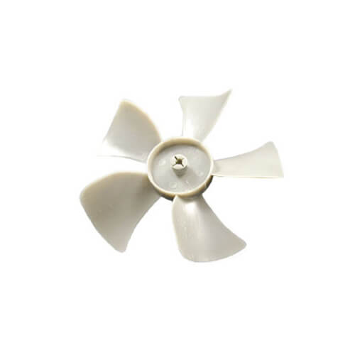 """4"""" Plastic 5 Blade CW Fan Blade, 3/16"""" Bore Product Image"""