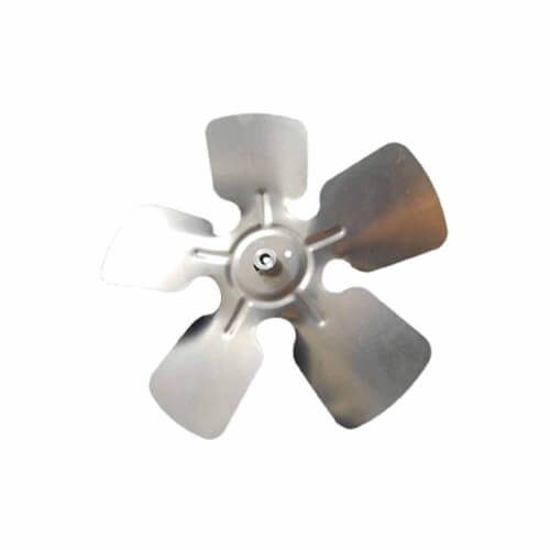 """14"""" Aluminum 5 Blade CW Fan Blade, 5/16"""" Bore (w/ Hubs) Product Image"""