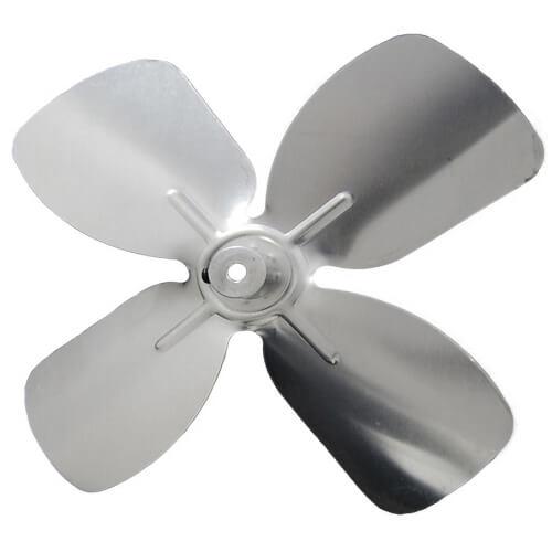 "6"" Aluminum 4 Blade CW Intake Hub Fan Blade Product Image"