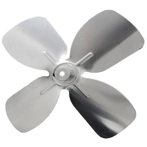 "6-1/2"" Aluminum 4 Blade CW Intake Hub Fan Blade Product Image"