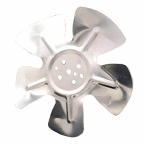 """10"""" Aluminum, 5-Blade, CW Fan Blade (Hubless) Product Image"""