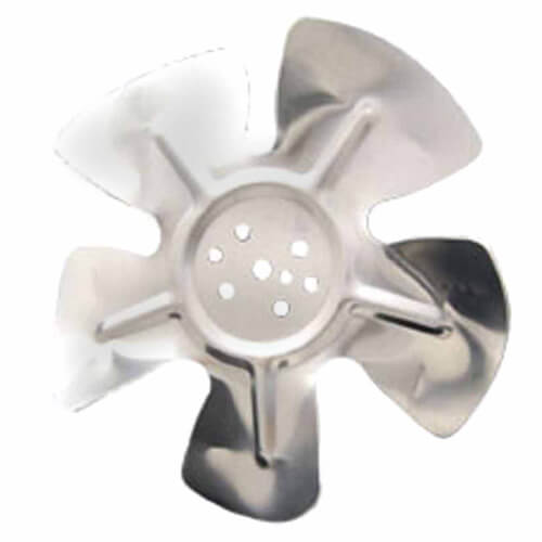 """6-3/4"""" Aluminum 5 Blade CCW Hubless Fan Blade Product Image"""