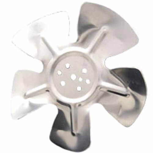 """8-3/4"""" Aluminum 5 Blade CCW Hubless Fan Blade Product Image"""