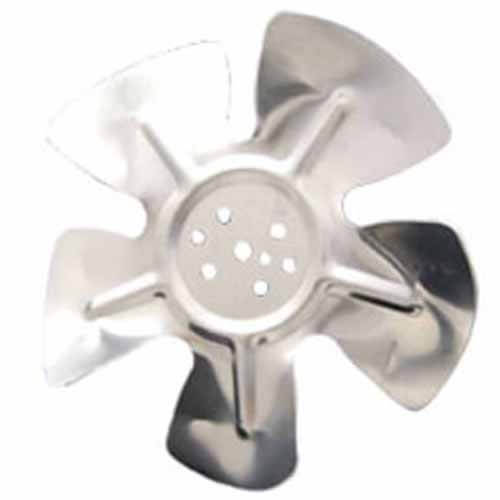 """8"""" Aluminum 5 Blade CW Hubless Fan Blade Product Image"""