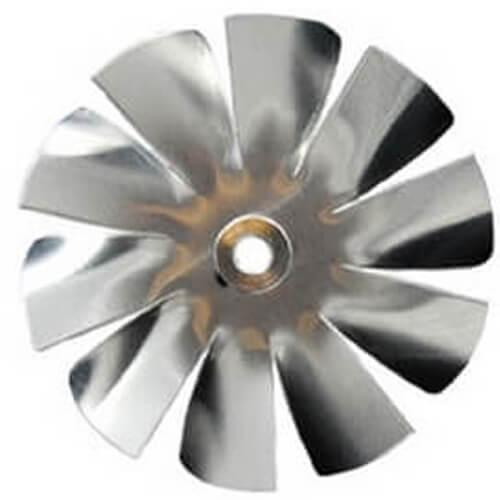 "2"" Aluminum 10 Blade CW Intake Hub Fan Blade Product Image"