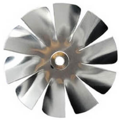 "2-1/2"" Aluminum 10 Blade CW Intake Hub Fan Blade Product Image"