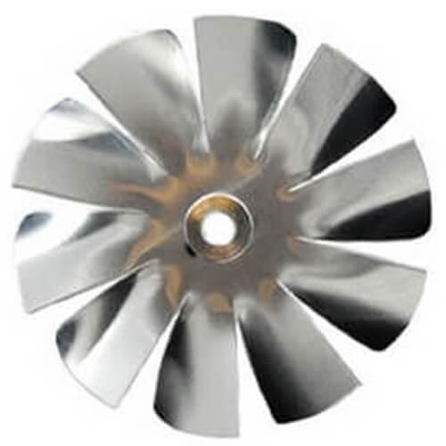 "4"" Aluminum 10 Blade CW Intake Hub Fan Blade Product Image"