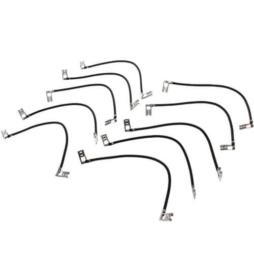 """6"""" Capacitor Jumper w/ 1/4"""" Female Terminals (10/pack) Product Image"""