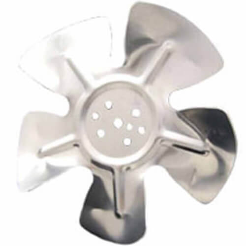 """7-3/4"""" Aluminum 5 Blade CW Hubless Fan Blade Product Image"""