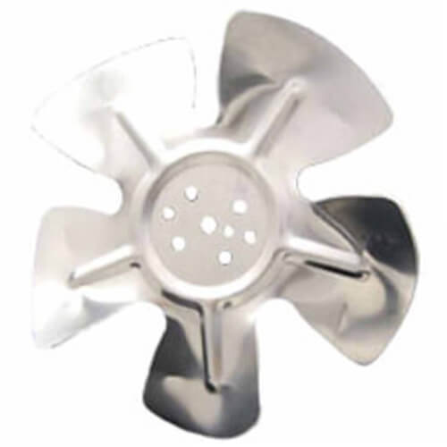 """10"""" Aluminum 5 Blade CCW Hubless Fan Blade Product Image"""