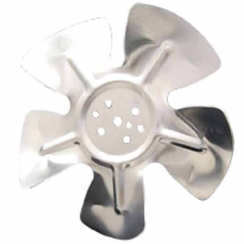 """9"""" Aluminum 5 Blade CCW Hubless Fan Blade Product Image"""