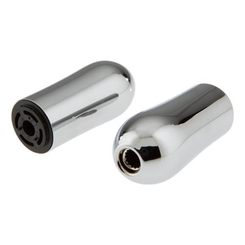 Chrome Metal Lever Handle Accent Set for Roman Tub Faucet Handle (Pack of 2) Product Image