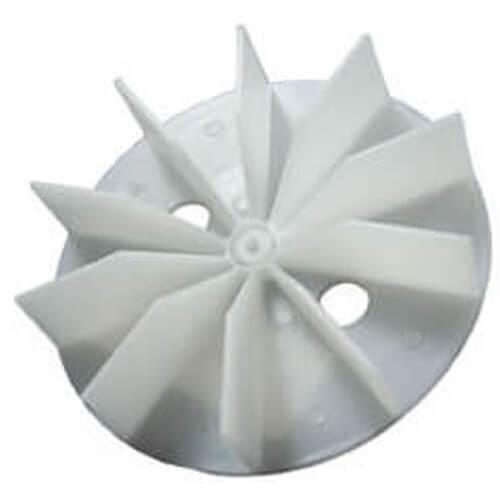 """4-1/2"""" Plastic Blower Wheel & Fan Blade w/ 3/16"""" Bore Product Image"""