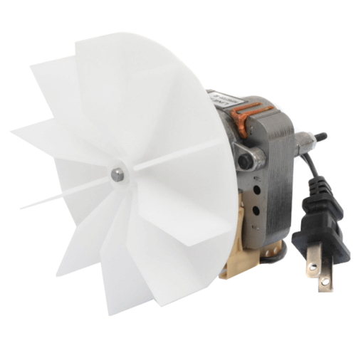 """4-9/16"""" Plastic Blower Wheel and Fan Blade, 7/32"""" Bore Product Image"""