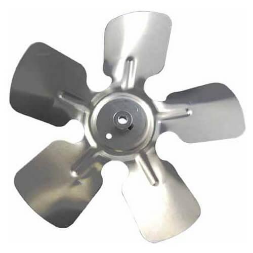 "6"" Aluminum, 4-Blade, CW Fan Blade (1/4"" Bore) Product Image"