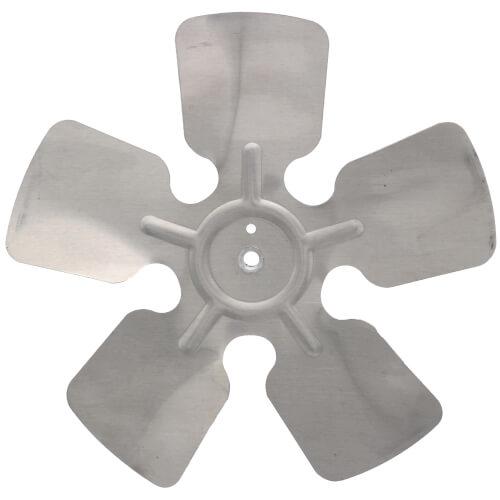 "10"" Aluminum 5 Blade CW Fan Blade, 5/16"" Bore (w/ Hub) Product Image"