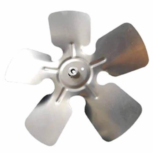"14"" Aluminum 5 Blade CW Fan Blade, 1/2"" Bore (w/ Hub) Product Image"