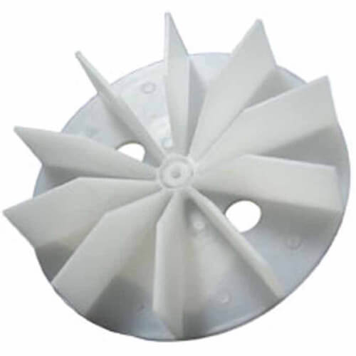 """4-1/2"""" Plastic Blower Wheel and Fan Blade, 3/16"""" Bore Product Image"""