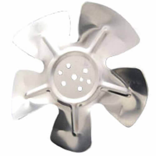 "7-3/4"" Aluminum 5 Blade CCW Hubless Fan Blade Product Image"