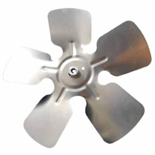 "9"" Aluminum 5 Blade CCW Fan Blade, 5/16"" Bore (w/ Hub) Product Image"
