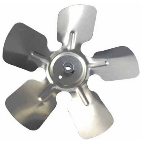 "8"" Aluminum, 5-Blade, CW Fan Blade (5/16"" Bore) Product Image"