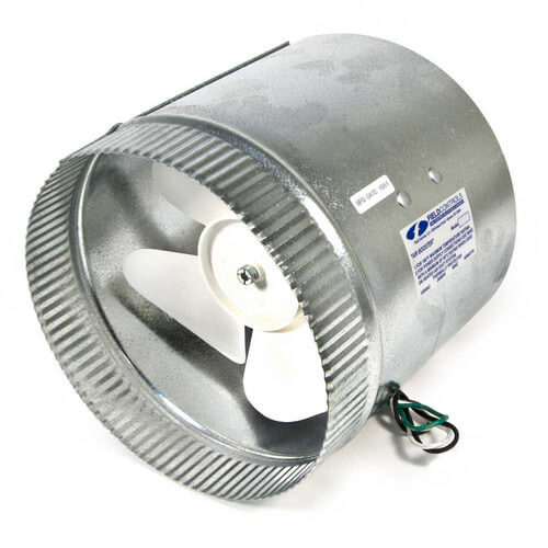 """6"""" Air Boosters for Round Metal Duct or Flex Duct (up to 225 CFM) Product Image"""