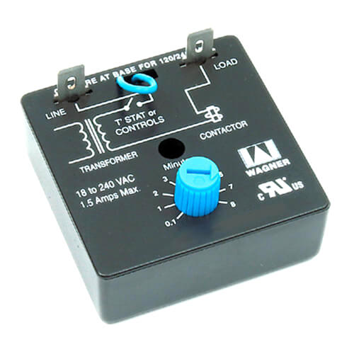 Adjustable Delay on Make Timer (6 Sec. to 8 Min.) Product Image