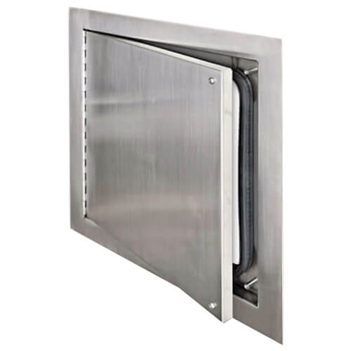 """30"""" x 30"""" Airtight/Watertight Access Door (Stainless Steel) Product Image"""