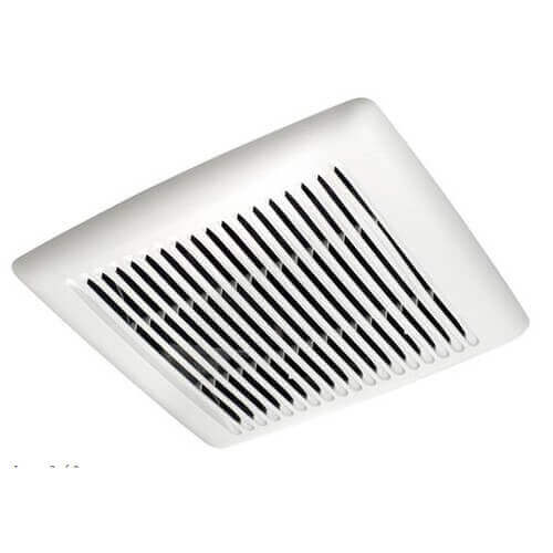 Flex Series Fan Finish Pack w/ White Grille, No Light (50 CFM, 0.5 Sones) Product Image