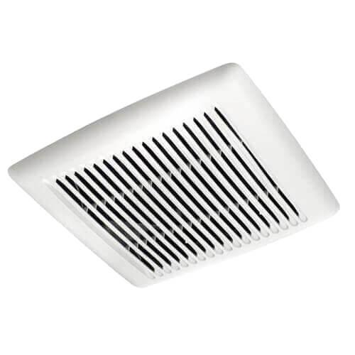 Flex Series Fan Finish Pack w/ White Grille, No Light (50 CFM, 0.5 Sones) Product Image