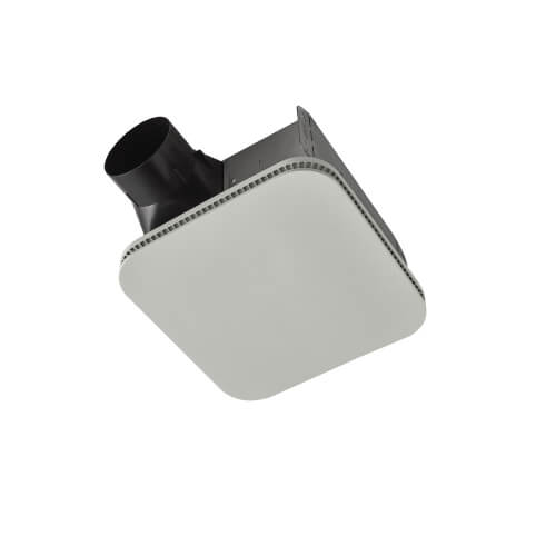 Flex Series Ceiling Bathroom Exhaust Fan w/ CleanCover Grille, Energy Star (80 CFM, 0.8 Sones) Product Image