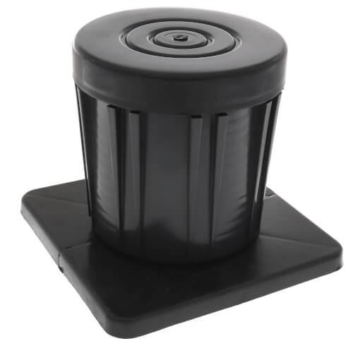 "8"" Adjustable Equipment Riser (Black) Product Image"