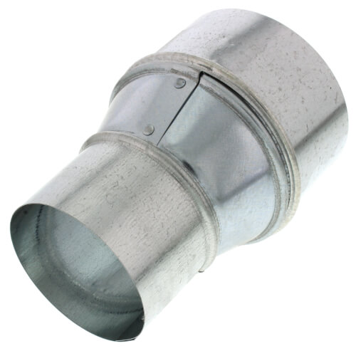 """AK34R 3"""" to 4"""" Round Galvanized Steel Transition Product Image"""