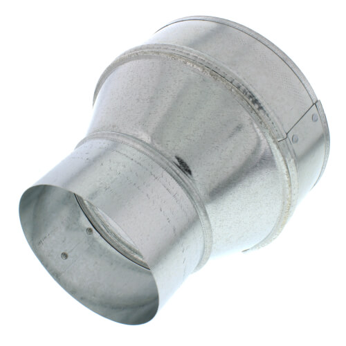 """AK46R 4"""" to 6"""" Round Galvanized Steel Transition Product Image"""